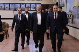 وفد المخابرات المصرية في غزة (أرشيفية)