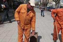عمال النظافة - أرشيفية