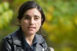 الناشطة الأزيدية لمياء بشار