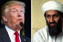 """موجة غضب ضد ترمب بسبب تصريحه عن """"بن لادن"""""""