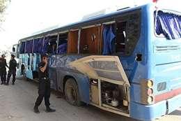 أنباء عن هجوم استهدف حافلة للأقباط بالمنيا