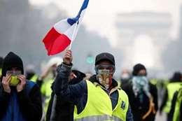 مظاهرات في فرنسا ضد قمة مجموعة الدول الصناعية السبع
