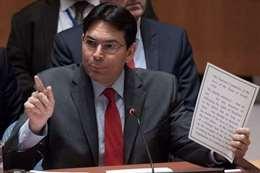 مندوب إسرائيل الدائم لدى الأمم المتحدة السفير داني دانون