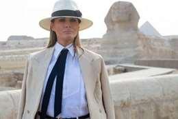 زيارة ميلانيا  للقاهرة