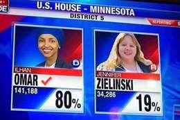 وصول أول مسلمة إلي الكونجرس بفوز ساحق