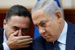 وزير النقل الإسرائيلي مع نتنياهو