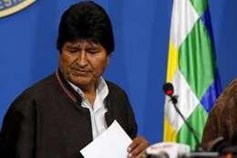 رئيس بوليفيا المستقيل