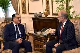 رئيس الوزراء يستقبل سفير اليونان الجديد في مصر