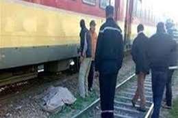 سقطت من قطار طنطا