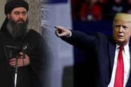 ترامب: الرجل الثالث في داعش في ورطة