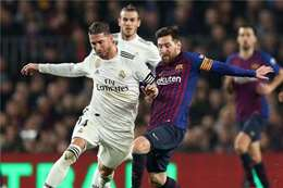ريال مدريد وبرشلونة