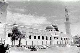 المسجد النبوي قديما