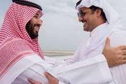 وفد قطري في طريقه للسعودية