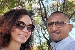 وائل غتيم وزوجته