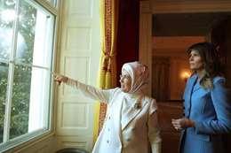 ميلانيا ترامب وأمينة أردوغان
