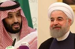 رئيس إيران وولي العهد السعودي