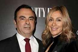 كارلوس غصن وزوجته