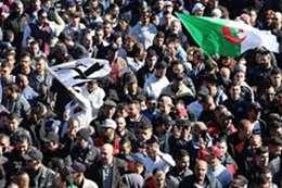 المظاهرات الجزائرية