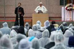 البابا فرانسيس خلال كلمته