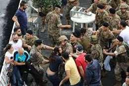 عناصر الجيش اللبناني