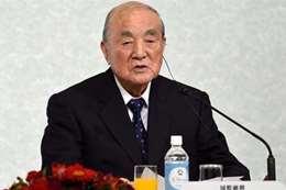 """رئيس الوزراء الياباني الأسبق وزعيم الحزب الديمقراطي""""ياسوهيرو ناكاسوني"""