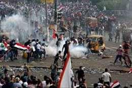 مقتل 10 في فض اعتصام البصرة
