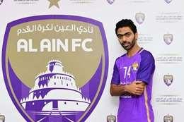 حسين الشحات بقميص العين الإماراتي