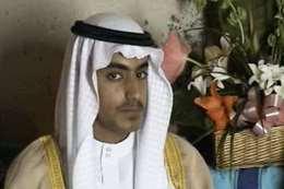 حمزة بن لادن خلال حفل زفافه (فرانس برس نقلاً عن السي آي إيه)