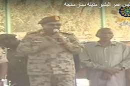 الرئيس السودانى خلال خطابه فى ولاية سنار