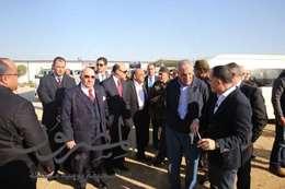 مميش ومحلب يستكملان زيارة مشروعات الهيئة الإقتصادية