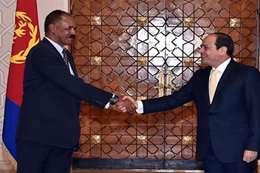 السيسى ورئيس إريتريا (أرشيفية)