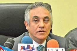 المستشار محمود الشريف المتحدث الرسمي باسم الهيئة الوطنية للانتخابات