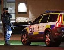 بالصور.. انفجار يهز مركز شرطة فى مالمو بالسويد