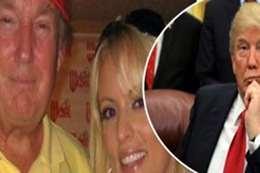 ترامب مع الممثلة الإباحية كليفورد