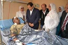 محافظ الغربية: 50 ألف جنيه لأسرة متوفى انفجار صومعة طنطا