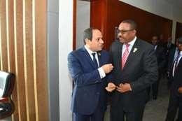 الرئيس السيسي ورئيس وزراء إثيوبيا