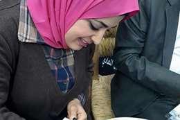 الكاتبة سامية حسن