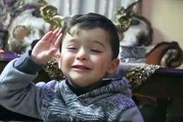 طفل فلسطينى