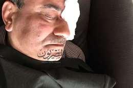 المستشار هشام جنينة بعد الحادث