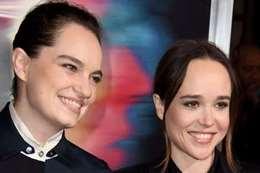 إيلين بيدج وصديقتها  إيما بورتنر.