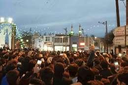احتجاجات فى إيران