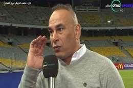 ابراهيم حسن مدير الكرة بالنادى المصرى