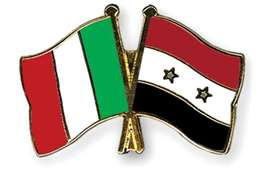 إيطاليا وسوريا