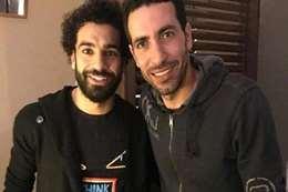 محمد صلاح وابوتريكة