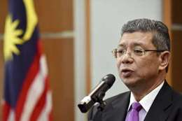 وزير الخارجية الماليزي، سيف الدين عبد الله
