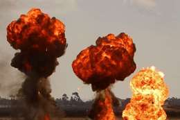 انفجار خط أنابيب