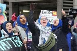 من التظاهرات