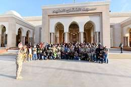 أكبر مسجد في تاريخ مصر بالعاصمة الإدارية