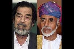 صدام حسين وقابوس
