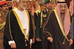 سلمان وسلطان عمان